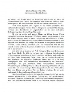 Eberhard Koch, ein vergessener Kerckhoffianer