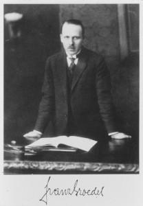 Prof. Franz-Maximilian Groedel