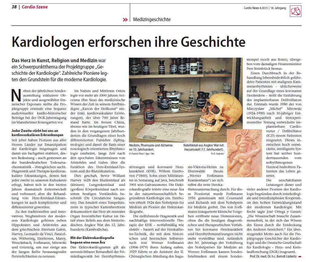 Cardio News Beitrag